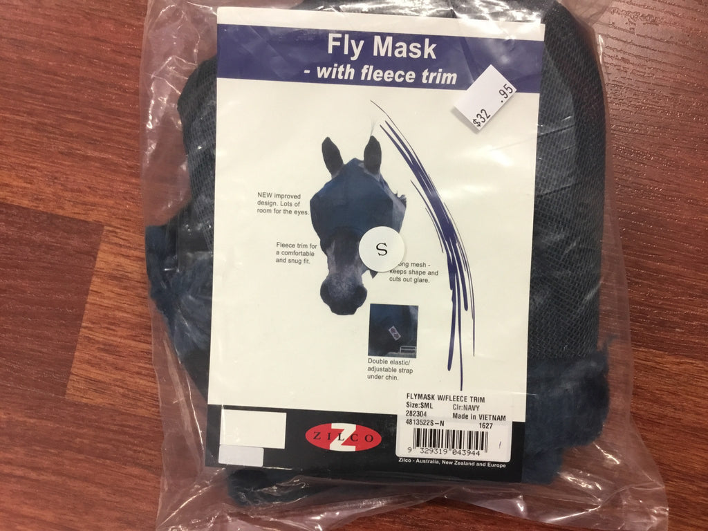 Fly mask fleece trim - Freestyle Saddlery