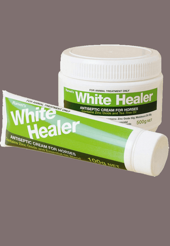 White Healer - Freestyle Saddlery