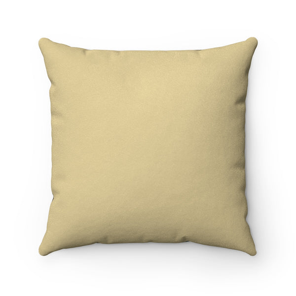 Faux Suede Square Pillow
