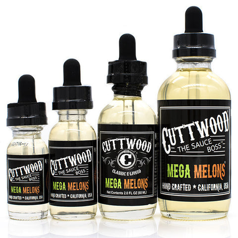 Mega Melons eJuice by Cuttwood | Melon Eliquid