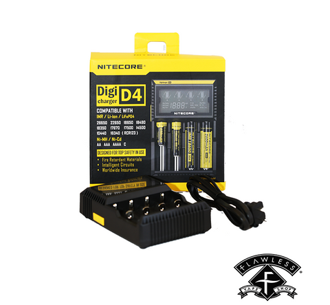 Nitecore Digicharger D4 Vapor Battery Charger