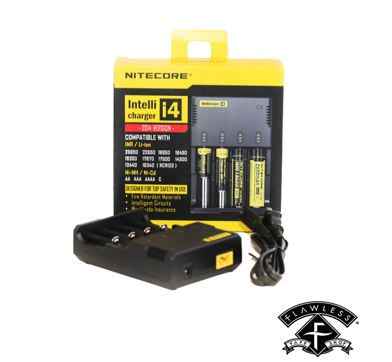 Nitecore Intellicharger i4 Smart Charger for Battery