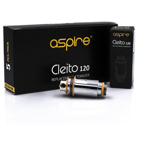 Aspire Cleito 120 Replacement Atomizer - 5pk