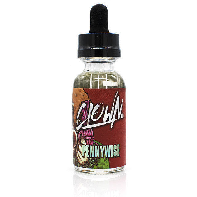 Pennywise Eliquid by Clown | Strawberry Watermelon Bubblegum Eliquid