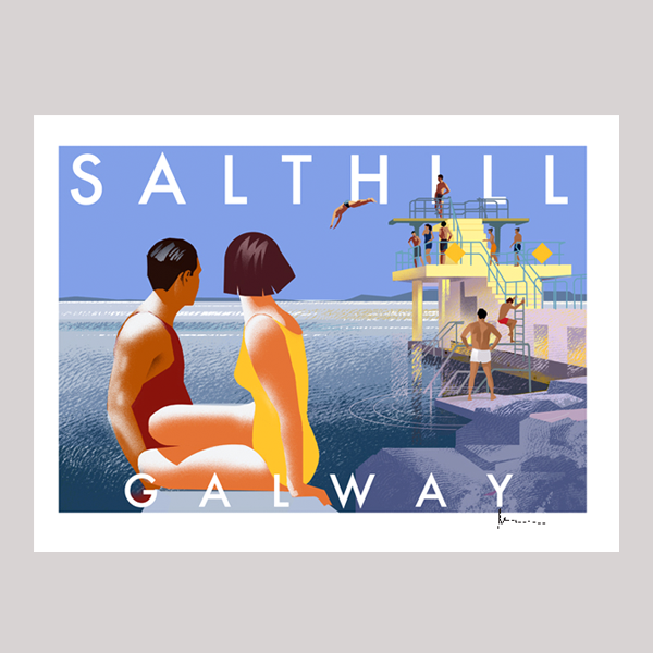 IRELAND TRAVEL POSTERS