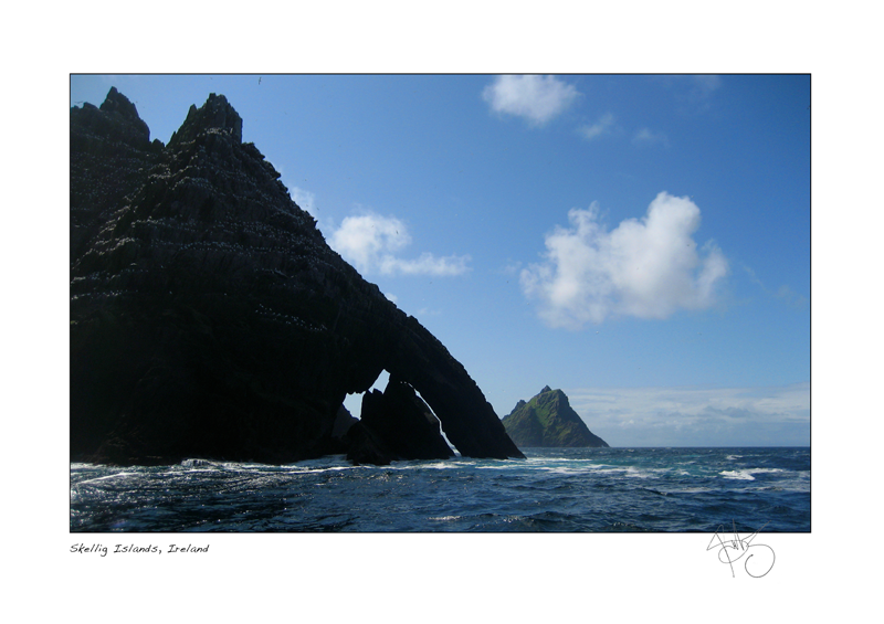 10. Skellig Islands, Ireland