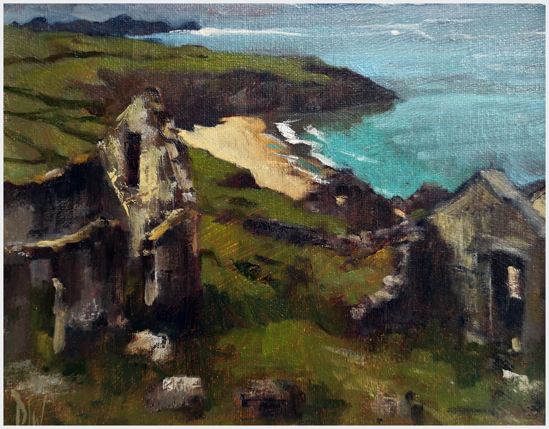 DAVE WEST - Abandoned Village Great Blasket Island