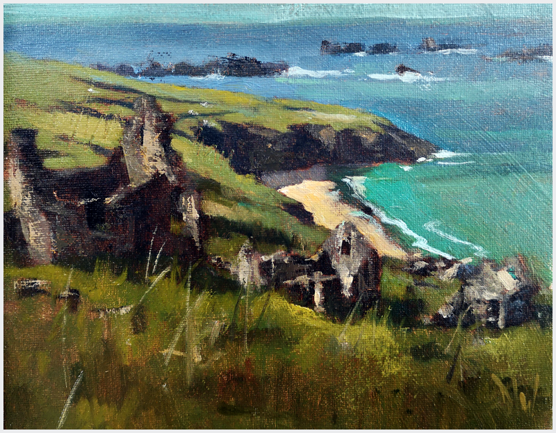DAVE WEST - Great Blasket Island, An Tra Ban