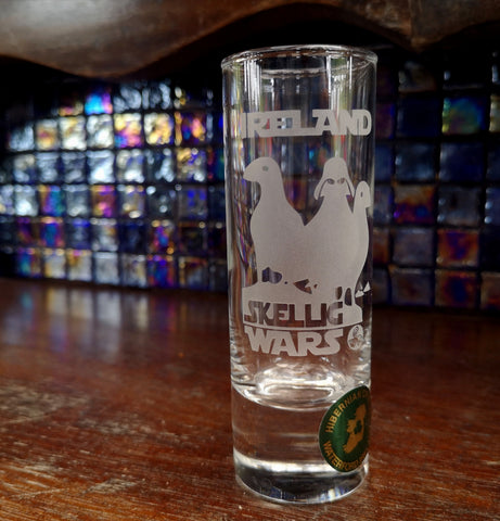 Skellig Wars PUFFIN Shot Glass