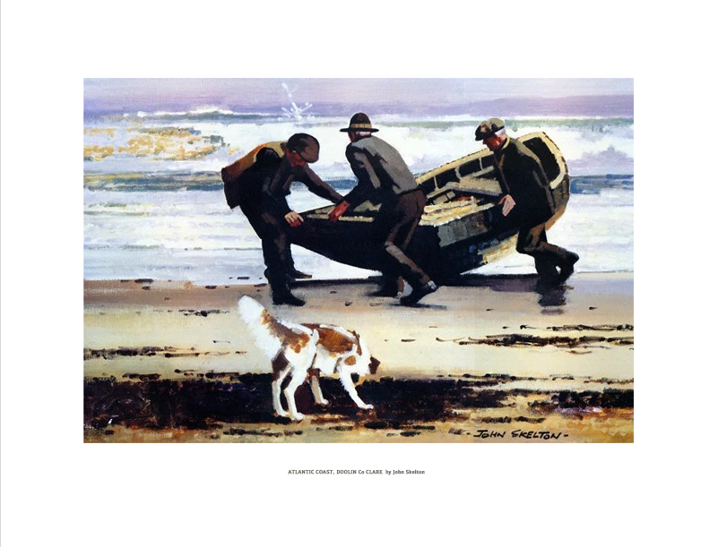 JOHN SKELTON - Atlantic Coast Doolin Co Clare