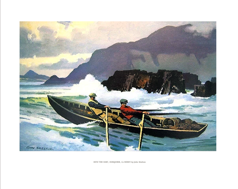 JOHN SKELTON - Into the surf, Dunquinn Co Kerry