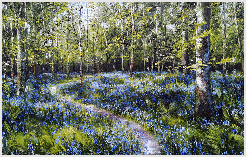 MARK ELDRED - Bluebell Woodland