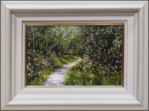 MARK ELDRED - Path through the Flag Iris and Rhododendron