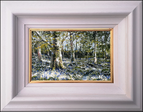 MARK ELDRED - Wild Garlic and bluebells, Killarney