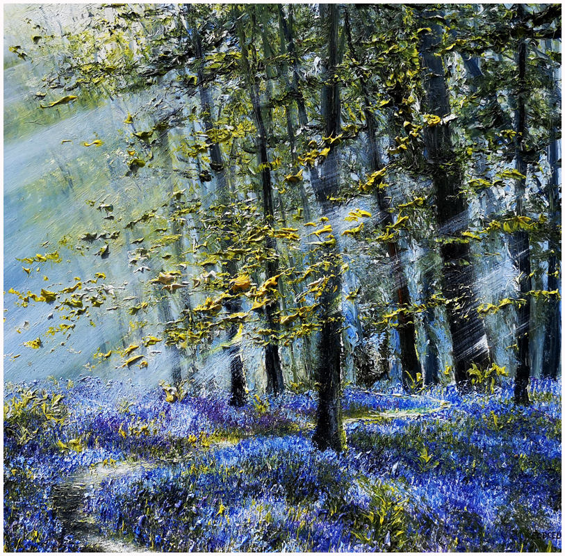 MARK ELDRED - Spring Light, Bluebell Woods, Killarney