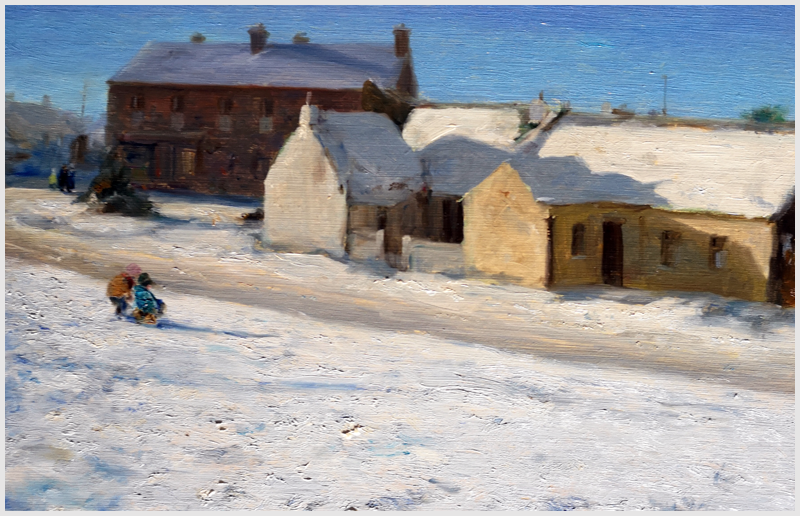 PAUL KELLY - Cottages in Snow Rush Co Dublin