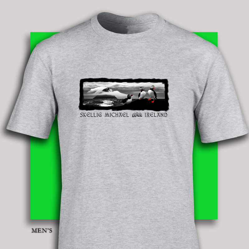 Skellig Michael Ireland t-shirt