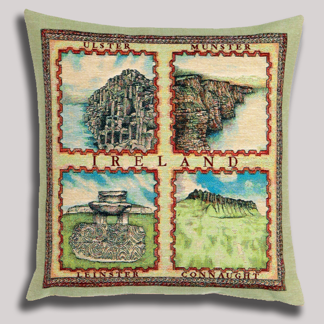 Ireland Four Provinces Cushion