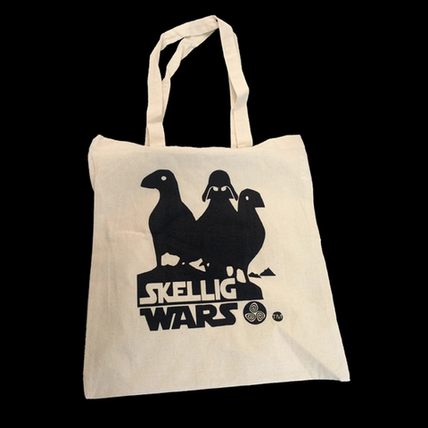 Skellig Wars Puffin tote bag