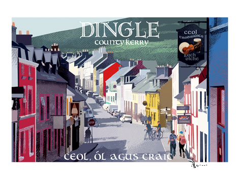 Dingle, Kerry - Irish Travel Posters