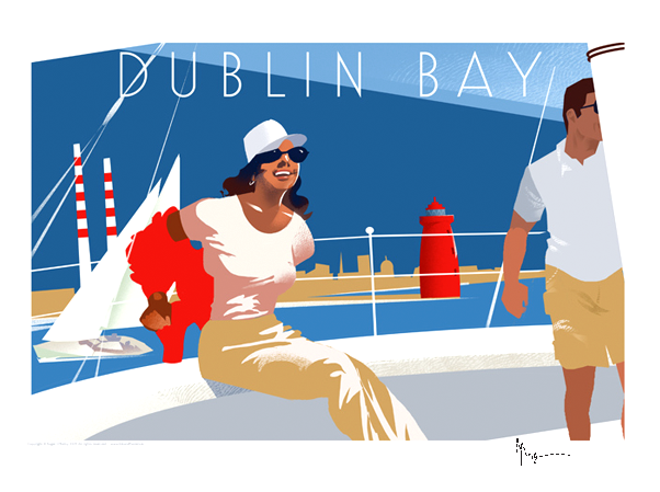 Dublin Bay - Irish Travel Posters