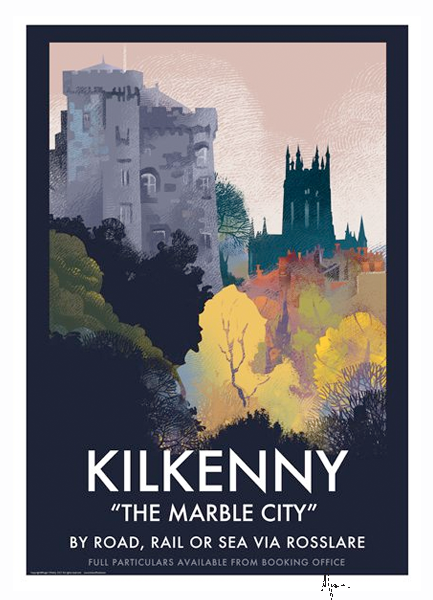 Kilkenny - Irish Travel Posters