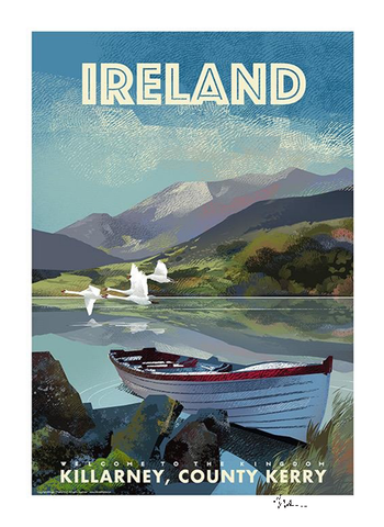 Killarney Ireland - Irish Travel Posters