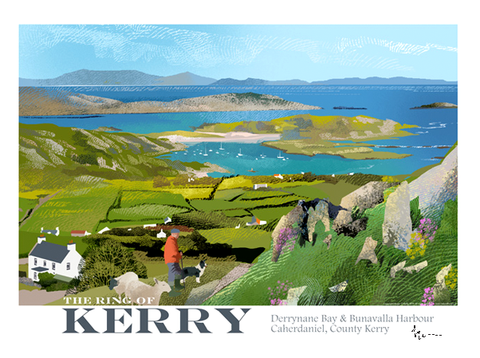 Ring of Kerry - Irish Travel Posters