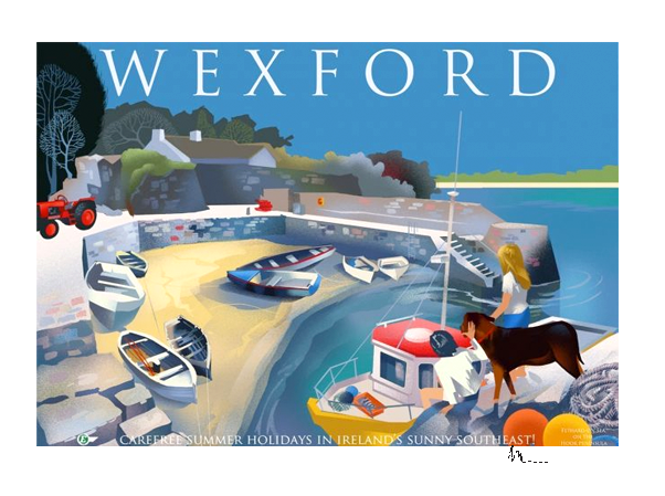 Wexford  - Irish Travel Posters