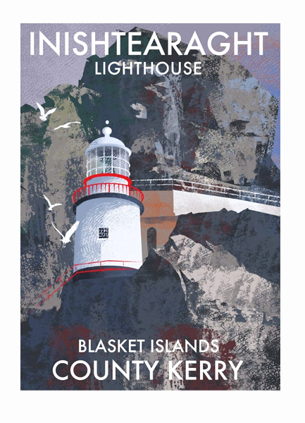 Inishtearagh Blasket Islands - Irish Lighthouses