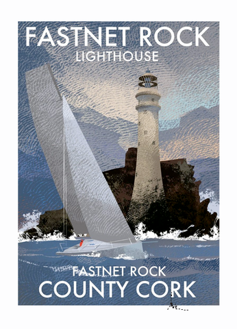 Fastnet Lighthouse - Irish Lighthouses