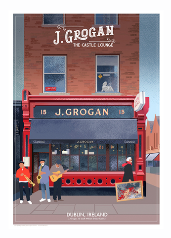 Grogans Pub, Dublin - Irish Pubs