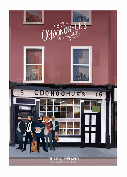 O'Donoghues Bar, Dublin - Irish Pubs