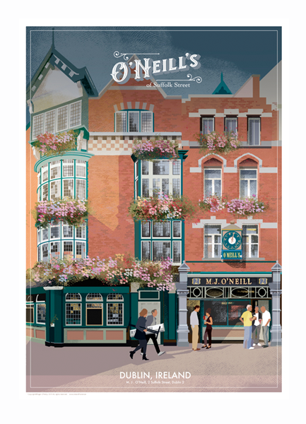O'Neills Bar, Dublin - Irish Pubs