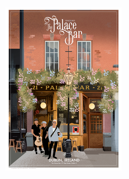 The Palace Bar, Dublin - Irish Pubs