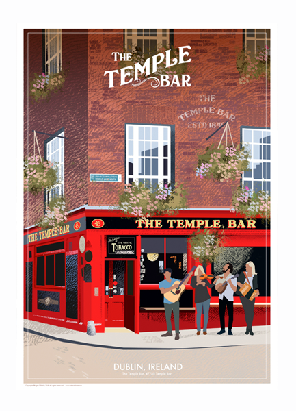 Temple Bar, Dublin - Irish Pubs