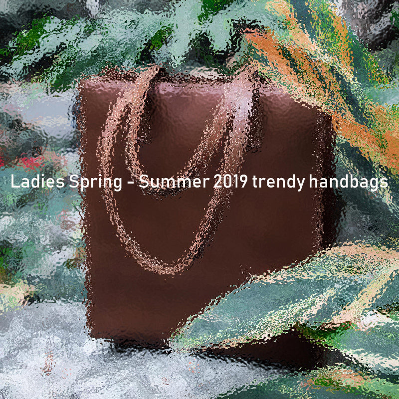 Ladies spring - summer 2019 trendy handbags
