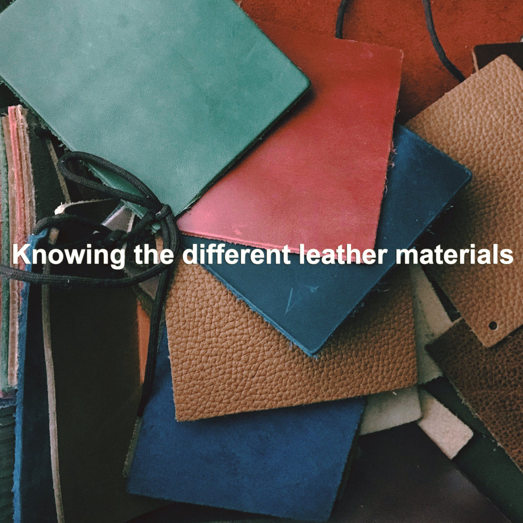 Knowing the different leather materials