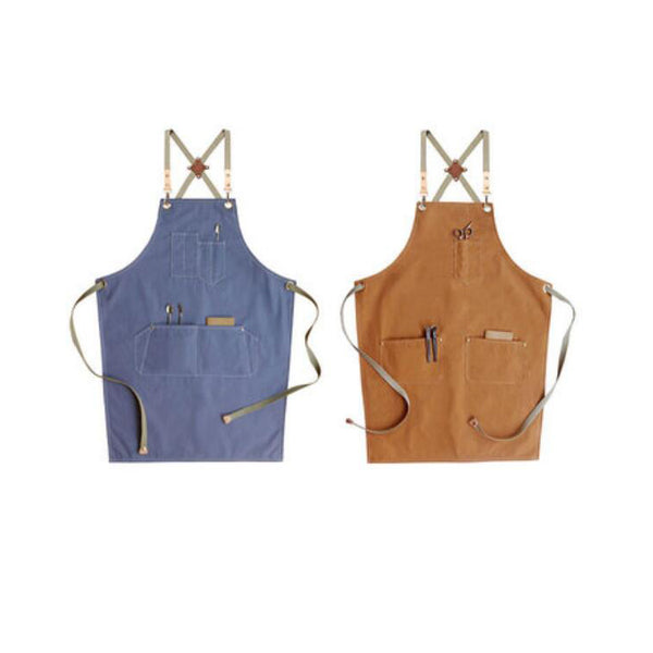 Double Side Use Apron Shop Apron Adults Apron Work Apron Cotton Apron Kitchen Apron Custom Logo Aprons M99-12 - LISABAG