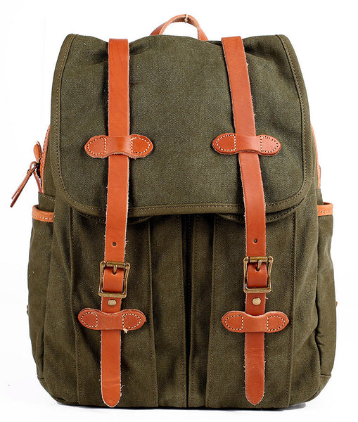 Fashion Canvas Backpack Hiking Backpack Travel Backpack Laptop Backpack School Backpack FB17-3
