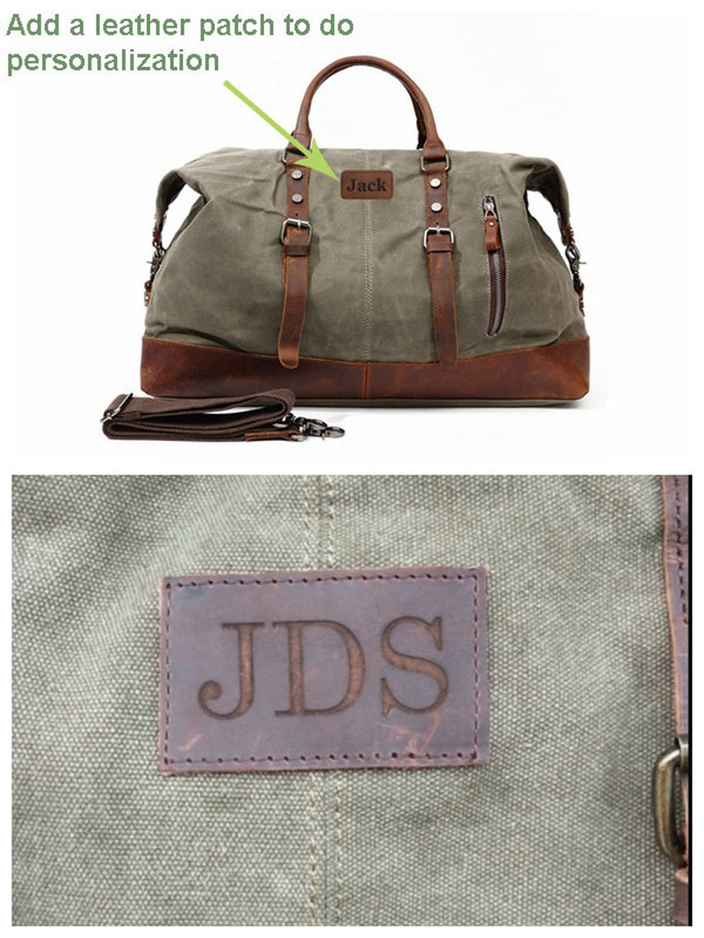 Personalized Travel Duffel Bag, Carry On Bag, Luggage Bag, Gift for Him, Weekender Bag
