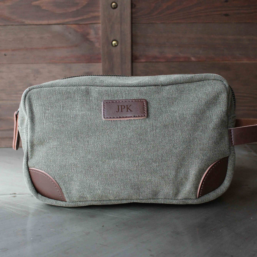 Groomsmen Gifts - Toiletry Bag, Dopp Kit, Best Man, Groomsman, Wedding Gift, Shave Bag, Personalized Groomsman Gifts, Gifts for Men - LISABAG