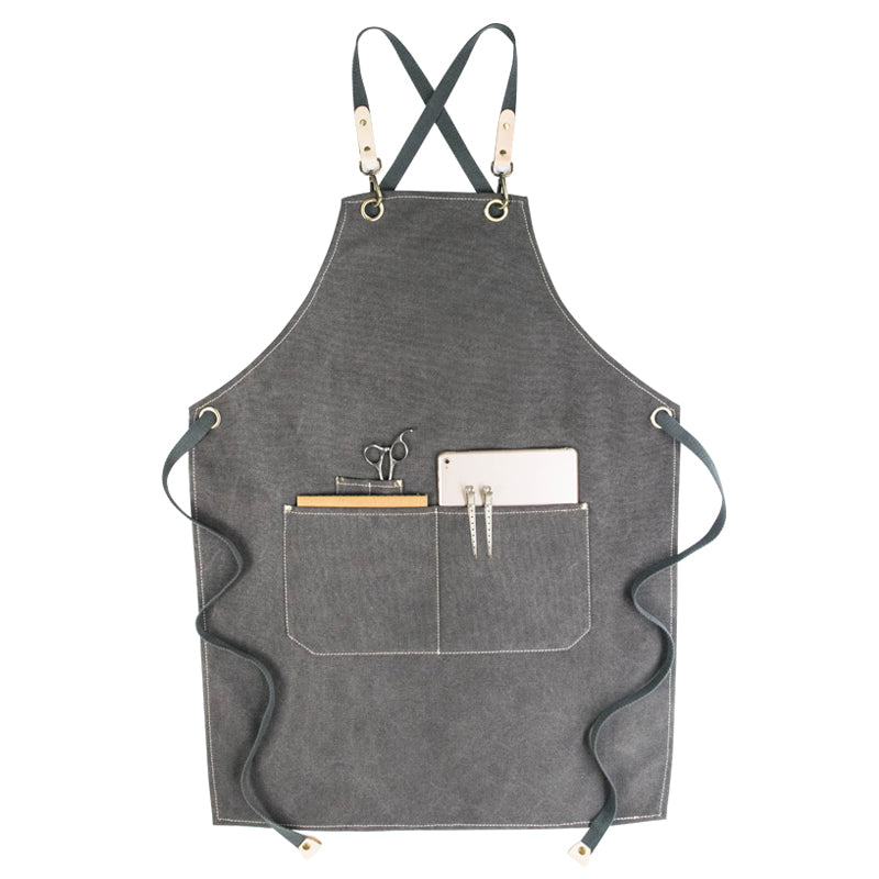 Personalized Work Apron Canvas Apron Custom Apron Server Apron Restaurant Apron G901 - LISABAG