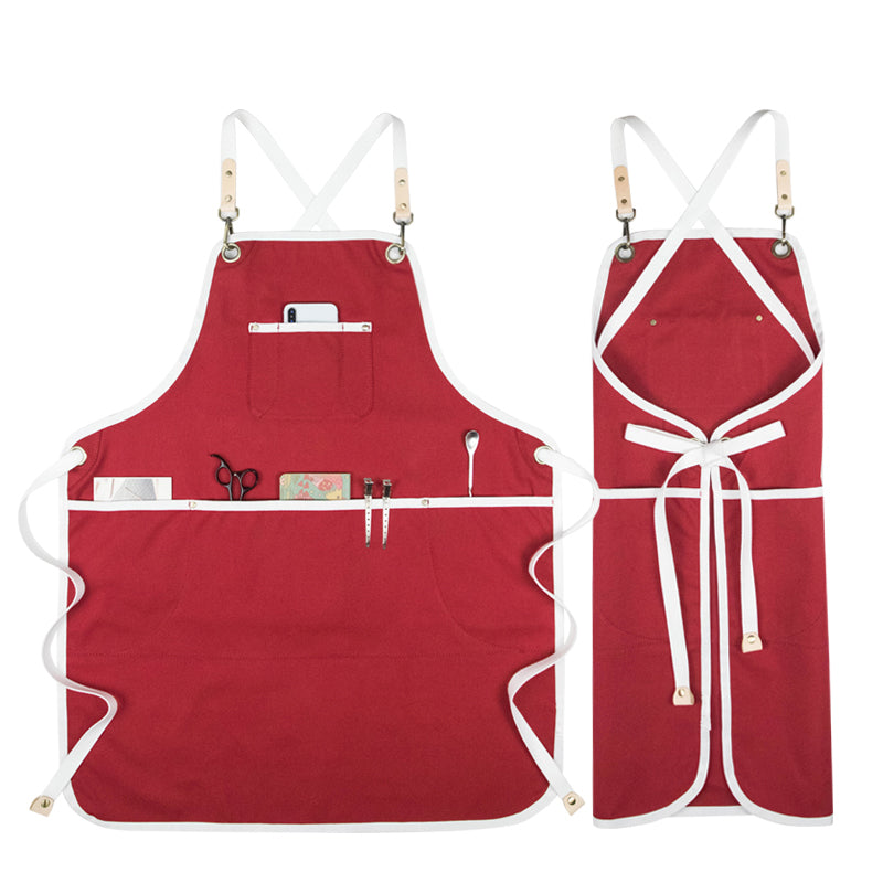 Waterproof Canvas Apron Baker Apron Work Apron Shop Apron Personalized Apron Studio Apron GPF958 - LISABAG