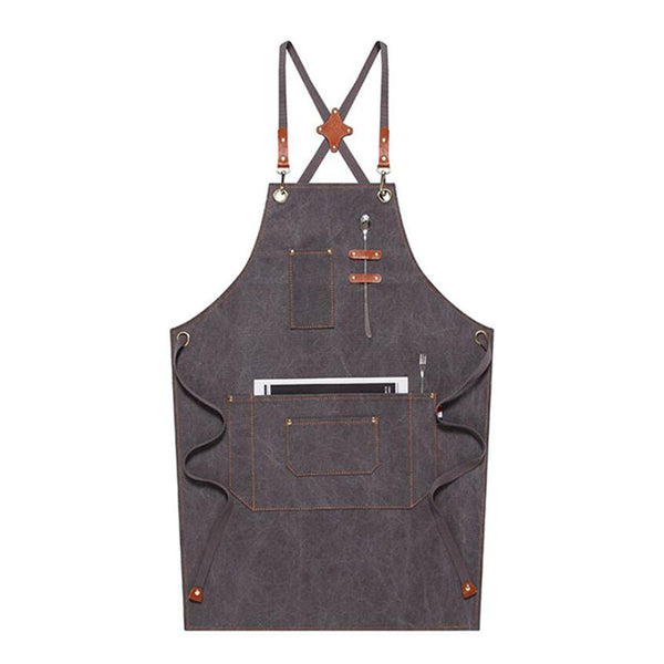Work Apron Personalized Canvas Apron Cooking Apron Custom Workshop Apron Waterproof ApronM79-17B