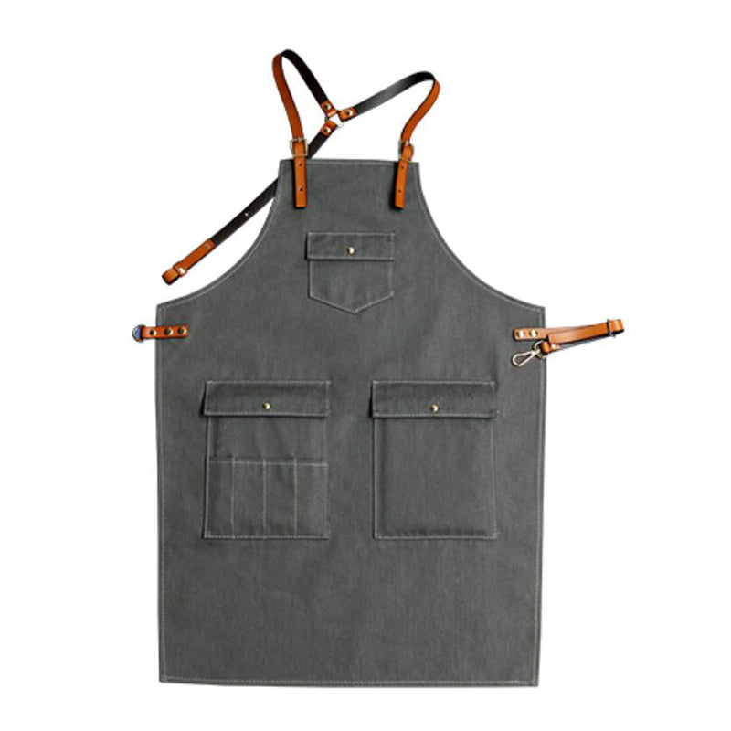 Work Apron Personalized Studio Apron Server Aprons Chef Apron Custom Logo Apron M129-13A - LISABAG