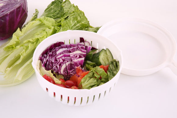 60 Second Salad Maker Cutter Bowl - DealZen