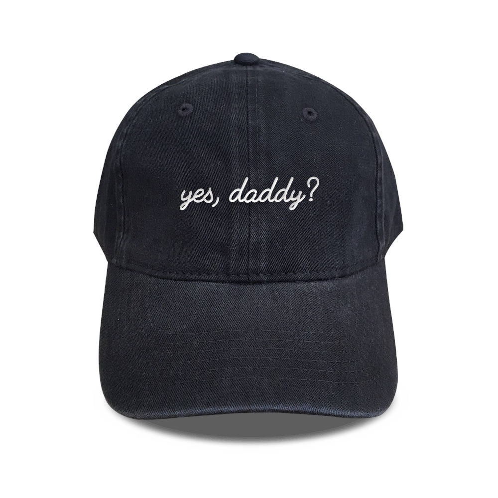 b71c8a42 Yes, Daddy? Embroidery Hat – stereospace
