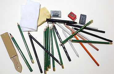 Pencils and Drawing Accessories