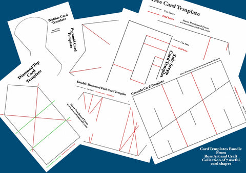 Card Template Bundle One